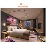 Low Back Hotel King Size Bed For Resort Traveling / Resident Bedroom Furniture Manufactures