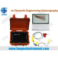Quality LANGEO WZG-6B/12A MASW Seismography for city enginnering survey for sale