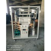 China ZY single stage vacuum insulating oil purifier | transformer oil filter plant on sale