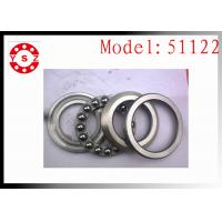 Genuine 51122 Thrust Ball Bearing  For Crane Hook Machine Smooth Rolling Manufactures