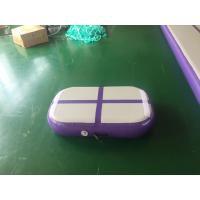 Professional Air Jumping Track Purple Inflatable Air Board Air Block For Gymnastics Manufactures
