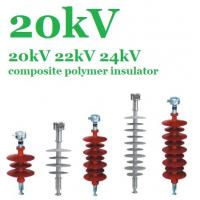 China Flexible Silicone Composite Polymer Insulator 20 KV For EHV Transmission Lines on sale