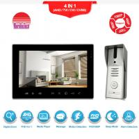 Manufacturer of video intercom System TV out connect with DVR AHD video door bell Manufactures
