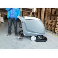 Semi-automatic Battery Powered Floor Scrubber In 18 Inch And 20 Inch Brush Manufactures