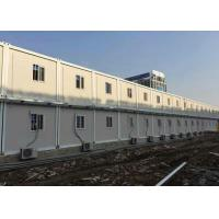 China Temporary Custom Container House Environment Friendly Aluminum Frame Door on sale