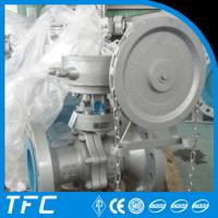 china wheel operated reduced bore floating ball vlave Manufactures