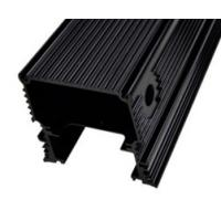 Quality Black Anodized Aluminum Extrusions For Electronics / Electrical Cover / for sale