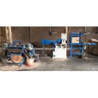 Buy cheap Full Automatic Wooden Hanger Round Bar Sanding and Angle Cutting Line from wholesalers