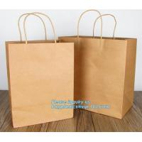 China Custom printing high quality paper carrier bag for shopping,gift packaging paper bags white carrie shopping paper bag wi on sale