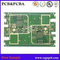 Polyimide and FR4 Rigid Flexible PCB, Multilayer FPC circuit board single-sided board for mobile power supply Manufactures