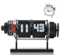 Black Electro Mechanical Flip Clock Manufactures