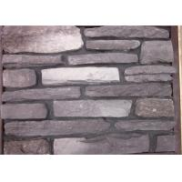 Multi - Shape Concrete Brick Veneer , Artificial Faux Stone For Outside Of House Manufactures