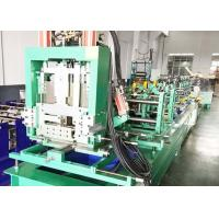 China Quick Interchangeable Cz Purlin Machine For Galvanized Steel Sheet on sale