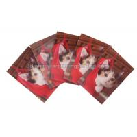 Rectangle Adhesive 3D Lenticular Stickers For Children
