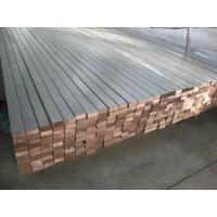 China Titanium Clad Copper Busbar , Copper Pipe Busbar Electroplating Copper Recovery on sale