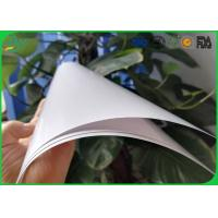 High Glossy Art Paper 2 Side Coated White Color For Book Cover Printing Manufactures