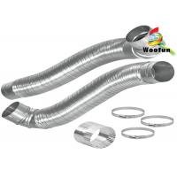 Semi - Rigid Flexible Aluminum Tubing Eco Friendly For Hydroponic System Manufactures