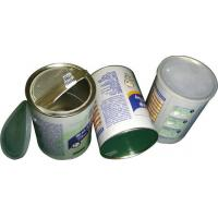 Food Grade Easy Peel Off Lid Airproof Paper Composite Cans , candy packaging tube Manufactures