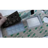China ISO9001, ISO13485 Certified Factory Supply UV Resistant and Waterproof Membrane Switches on sale