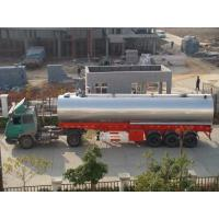Energy Saving Asphalt Tanker Semitrailer Hot Oil Or Direct Heating System Manufactures