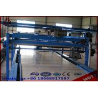 Straw Particle Board Production Line / Laminating Making Machine Free Standing Type Manufactures