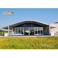 China Luxury Outdoor Event Tents 1500 People , Arcum Glass Wall Tent on sale