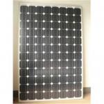 190W Mono-crystalline silicon solar module Manufactures