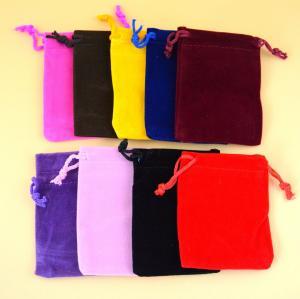 Customized Logo Wholesale Eco-Friendly Velvet bags/Velvet pouch Manufactures