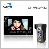 China Saful TS-YP808M 7'' touch key wired video door phone(control 2 electronic lock) on sale