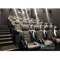 Unique 5D Cinema Simulator With Leather Seats And Low Noise Cylinder Manufactures