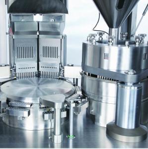 Multipharma Capsule Filling Machines , Pharmacy Pill Capsule Machine 900KG Manufactures