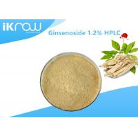 Top Quality Ginsenoside 1.2% HPLC Organic Ginseng Powder For Health Manufactures
