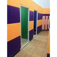 China SGS Approval Polyester Fiber Sound Acoustic Panels For Interior Wall Panelings wholesale