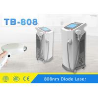 Quality Pain Free 808nm Diode Laser Hair Removal Machine Touch Control Germany Laser Bars for sale