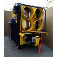 Yellow 4 Outlet Waste Oil Burning Heater Stainless Steel Combustion Chamber Manufactures