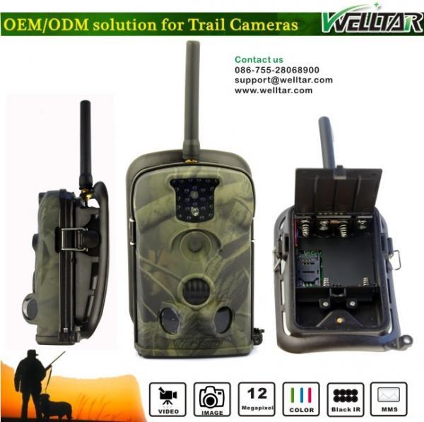 Quality 12MP Acorn Wireless Wildlife Camera , Traps For Wild Animal for sale