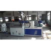 China UPVC Plastic Pipe Double Screw Extruder Machine for Water Supply , CPVC Pipe Extrusion Line on sale