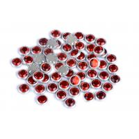 Flatback Loose Rimmed Rhinestones High Color Accuracy With Shinning Facets Manufactures