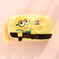 Despicable me minion Plush Pencil Case Cartoon Characters in Yellow Manufactures