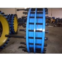 Single Sphere High PerformanceCarbon Steel, Zinc Plated PN10 / PN16 Expansion joints Manufactures