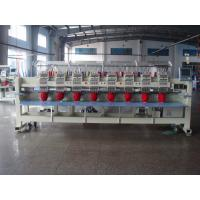 Digital Embroidery Machine 12 Needle , Multi Thread Embroidery Machine 8 Head  Manufactures