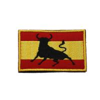 Buy cheap Laser Cut Border Personalised Iron On Patches Embroidery Area For Garment from wholesalers