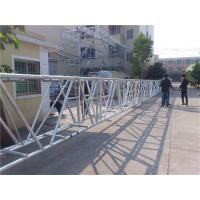 China 100 Feet Aluminum Folding Truss Largest Span Silver Black Outdoor on sale