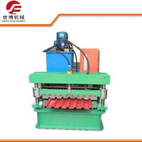 Industrial PLC Controlled Metal Sheet Rolling MachineIncludes Manual Decoiler Manufactures