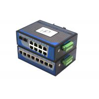 8 Port Unmanaged Fiber Ethernet Switch 100Mbps Wall Mounting Installation Manufactures