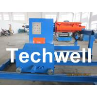 High Speed 0 - 15m/min Uncoiling Speed 5 Ton Automatic Uncoiler / Decoiler Curving Machine Manufactures