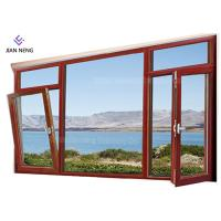 China Customized Modern Aluminum Windows , Windproof Custom Made Aluminium Windows on sale