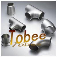 butt weld seamless/welded stainless steel pipe fitting for pipeline Manufactures