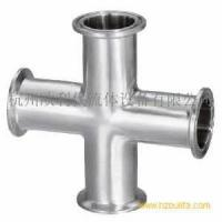 Sanitary Clamped Cross Manufactures
