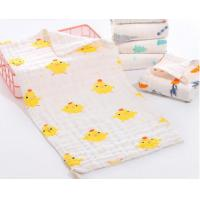 Super Soft Face Bath Towel Organic Washcloths Burp Cloth Sweet Printed Design Manufactures